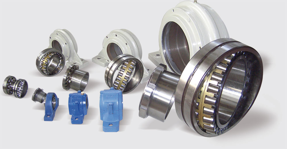 Bearings, supports and bushings all sizes