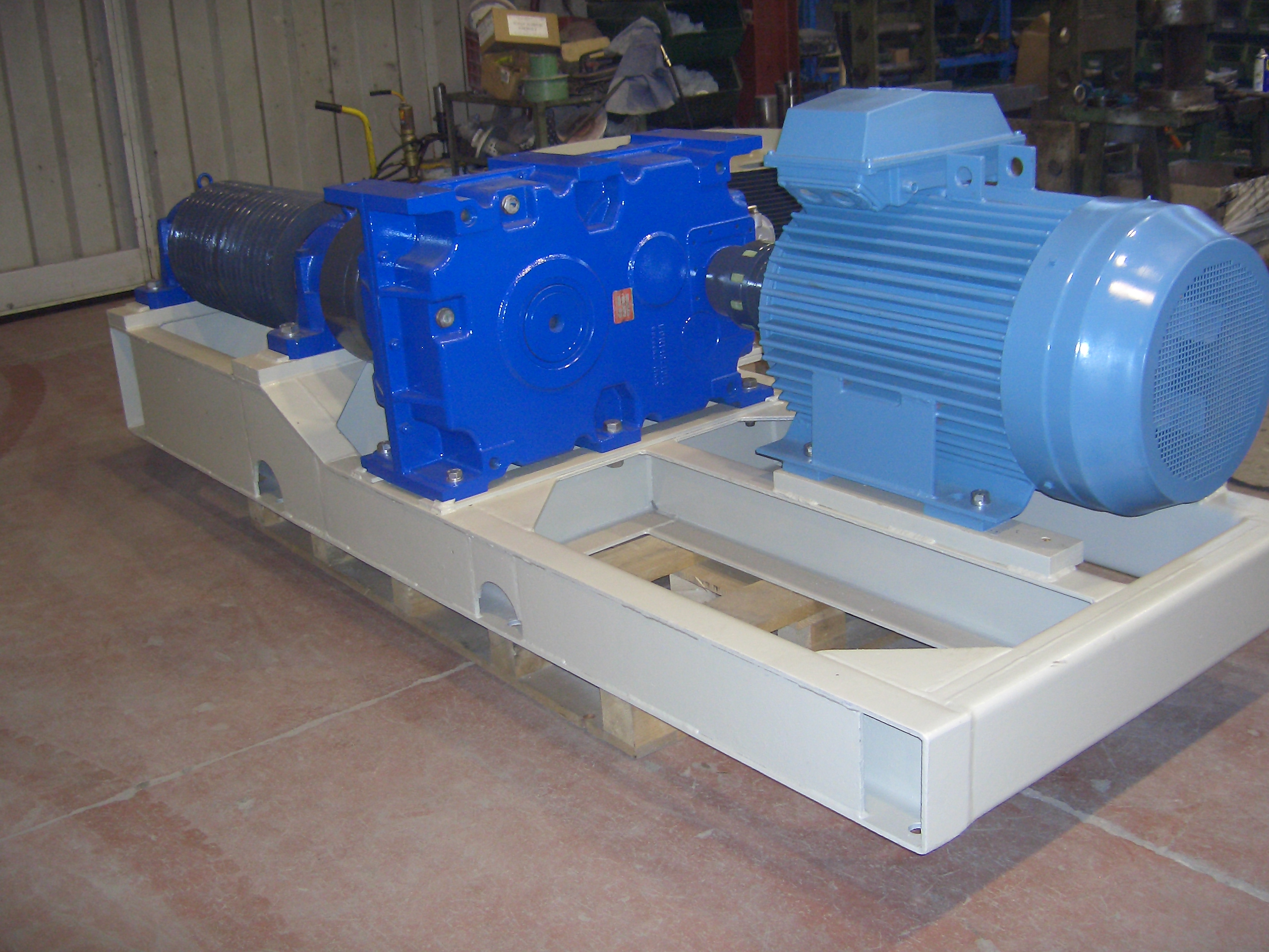 34000 l mill mechanism overhauled